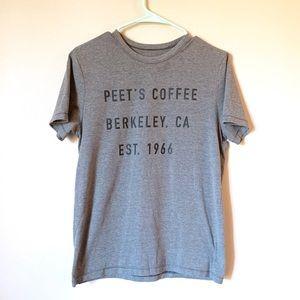 Peet's coffee shirt